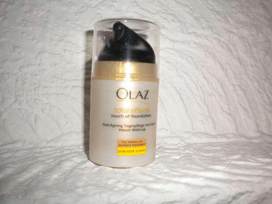 Test Getönte Creme Olaz Complete Touch Of Foundation