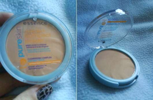 essence pure skin compact powder