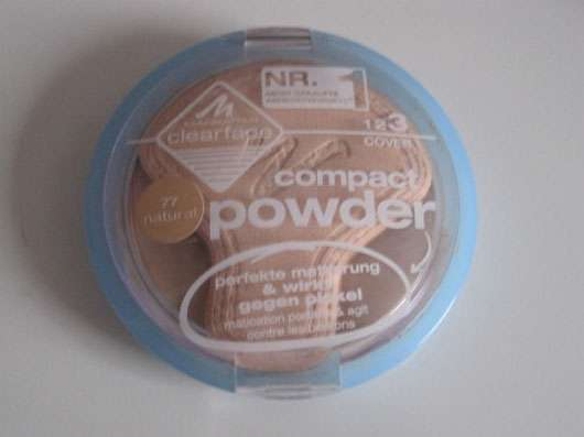 Manhattan Clearface Compact Powder, Nuance: 77 Natural