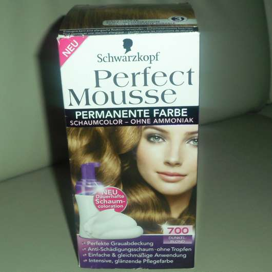 Schwarzkopf Perfect Mousse Schaumcoloration, Farbe: 700