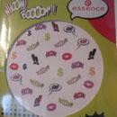 essence whoom! boooomm!! nail sticker