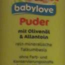 """babylove Puder mit Olivenöl & Allantoin (als """"Trockenshampoo"""" angewendet)"""