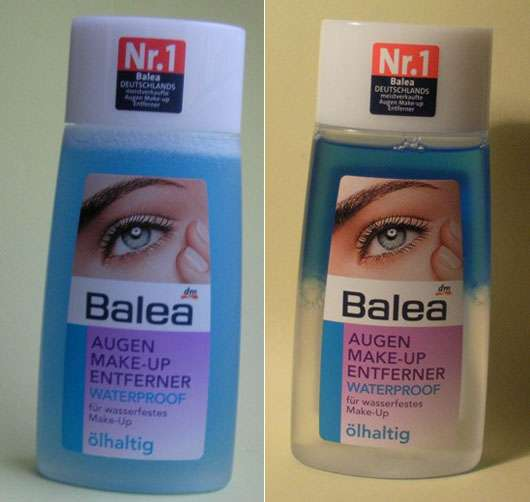 Gemeinsame Test - Augen Make-up Entferner - Balea Augen Make-Up Entferner @KN_36