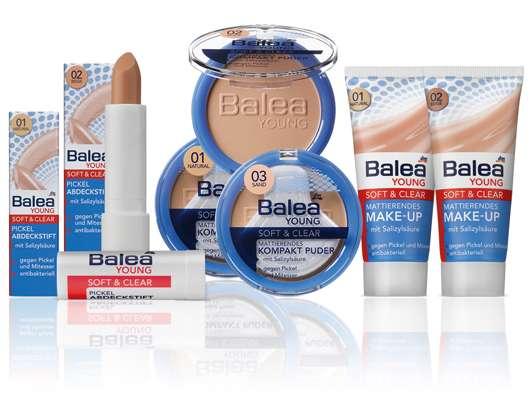 Balea YOUNG Soft & Clear antibakterielle Abdeckprodukte