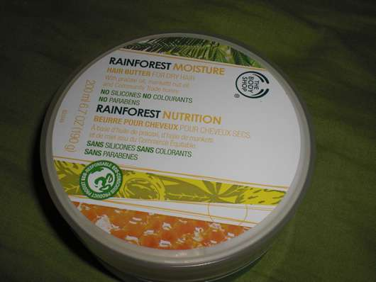 The Body Shop Hair Butter for dry hairs