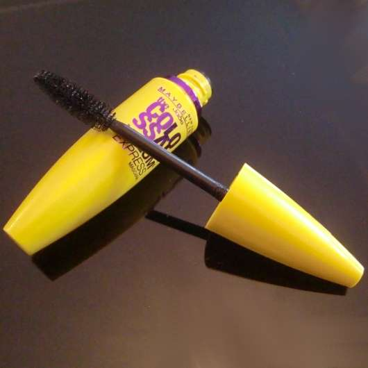Maybelline the colossal volum express mascara, Farbe: glam black