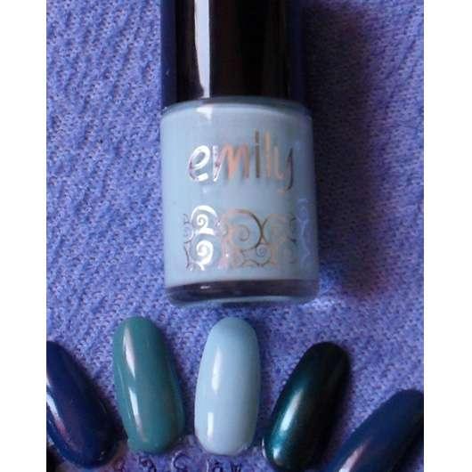 Farbe Nach Streichen Fleckig: Emily Nagellack, Farbe: 108 Fresh Mint