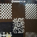 essence nail art Stampingschablone, Design: Geometrie
