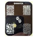 essence nail art Stampingschablone, Design: animal