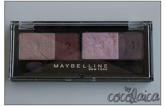 Maybelline New York Eyestudio Intense Chic, Farbe: 02 Vivid Plums