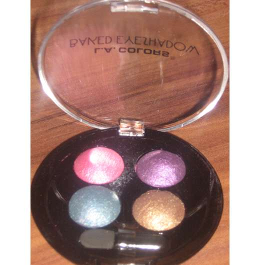 L.A. Colors Baked Eyeshadow, Farbe: CBE431 Neptune