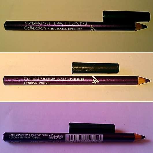 Manhattan Collection #2 Khol Kajal Eyeliner, Farbe: 5 Purple Passion
