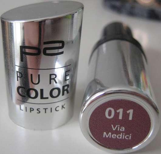 p2 pure color lipstick, Farbe: Via Medici Nr.011