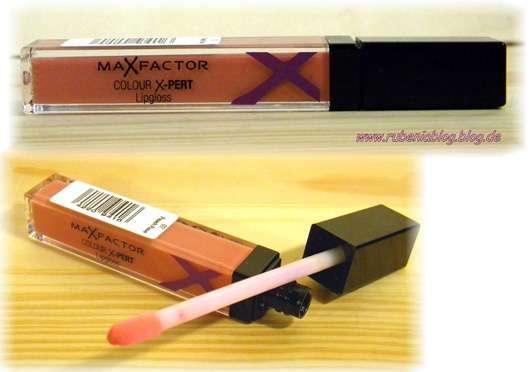 Max Factor Colour X-Pert Lipgloss, Farbe: 02 peach rose