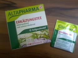 Produktbild zu ALTAPHARMA Erkältungstee