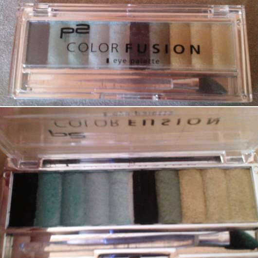p2 color fusion eye palette, Farbe: think about turquoise