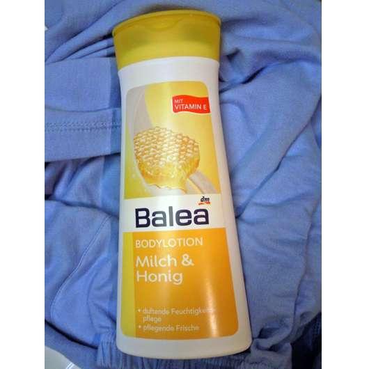 test body pflege balea bodylotion milch honig testbericht von oooliesaooo. Black Bedroom Furniture Sets. Home Design Ideas