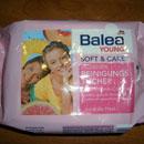 Balea Young Soft & Care Belebende Reinigungstücher mit Vitamin-Cocktail