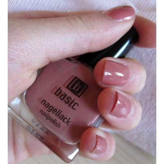 basic Nagellack, Farbe: Rosa-Braun
