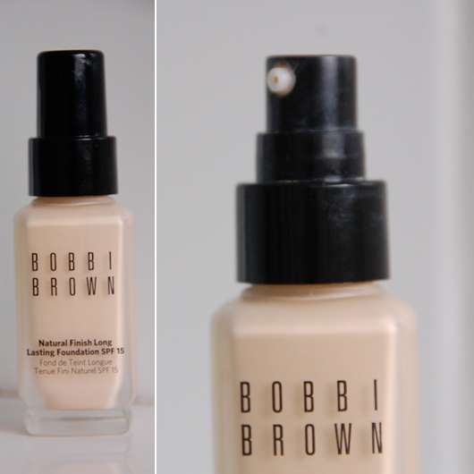 Test foundation bobbi brown natural finish long for Plastikdeckel spenden