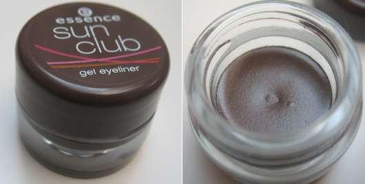 essence sun club gel eyeliner, Farbe: 02 BBC ALL NIGHT BROWN (Limited Edition)