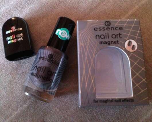 essence nail art magnetics nail polish, Farbe: 02 hex hex + Magnet