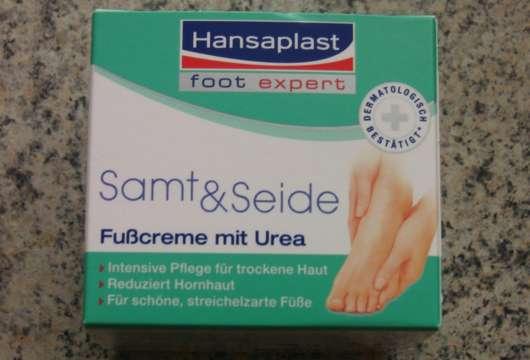 Hansaplast Samt & Seide Fußcreme mit Urea