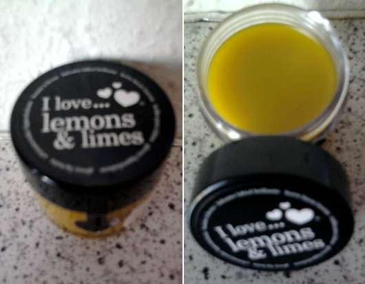 I love… lemons & limes glossy lip balm