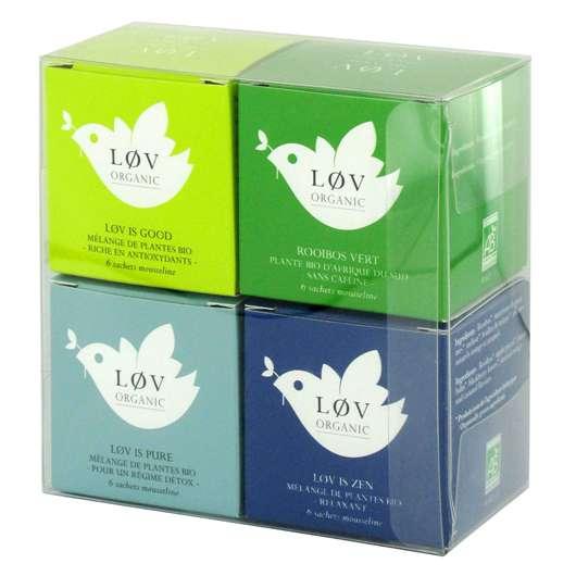 Das Wellnesstee – Set von Løv Organic