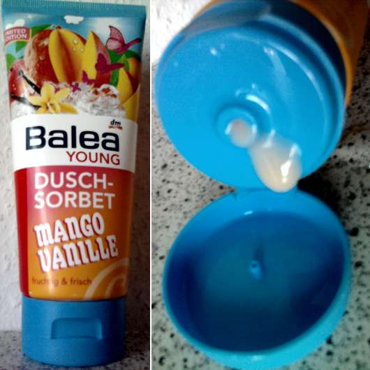 Balea Young Duschsorbet Mango Vanille (Limited Edition)