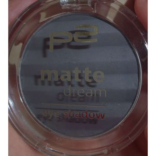 p2 matte dream eye shadow, Farbe: 030 grey style