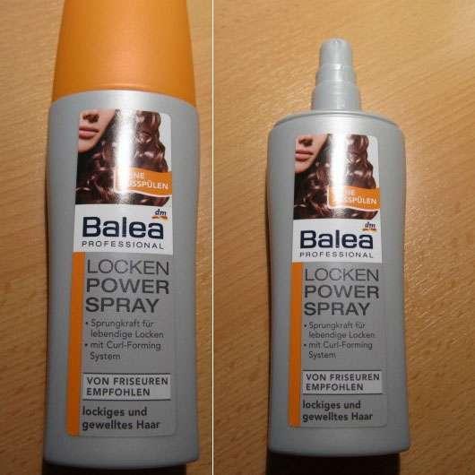 test spezialstyling balea professional locken power spray testbericht von milkyway. Black Bedroom Furniture Sets. Home Design Ideas
