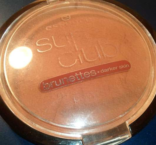 "essence sun club ""large matt bronzing powder – for brunettes"" (15g)"