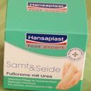 Hansaplast Samt & Seide - Intensiv pflegende Fußcreme mit Urea