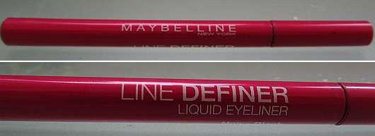Maybelline New York Line Definer Liquid Eyeliner, Farbe: Black