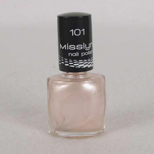 Misslyn nail polish, Farbe: 101 angel dust