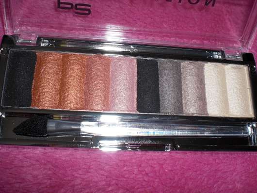 p2 color fusion eye palette, Farbe: 010 something about orange!