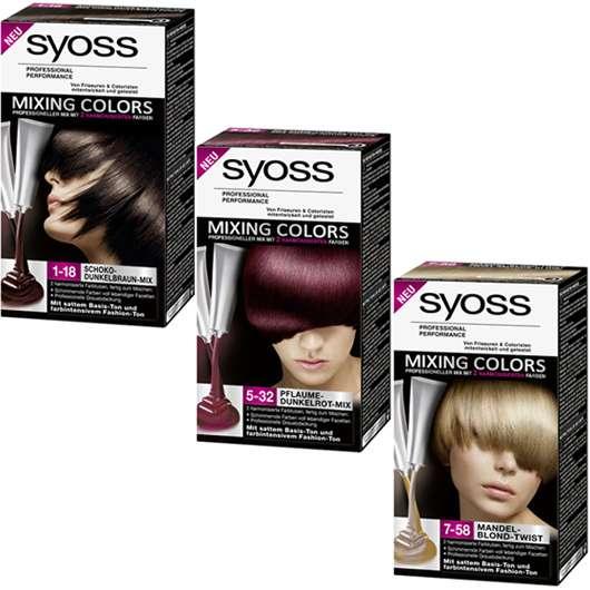 SYOSS Mixing Colors: intensive Farbe mit lebendigen Facetten