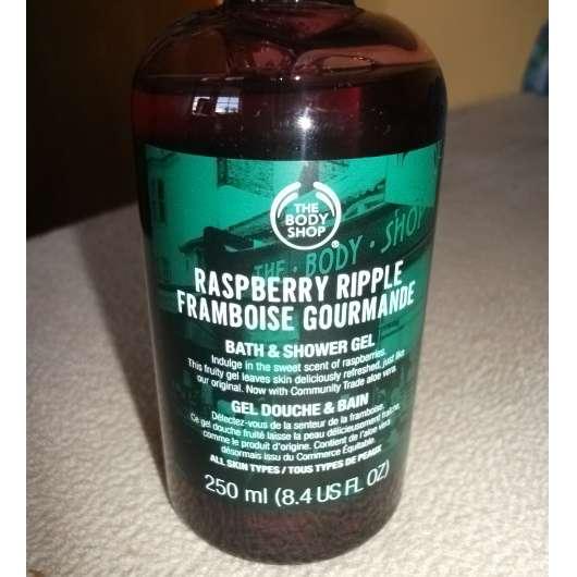 The Body Shop Raspberry Ripple Bath & Shower Gel