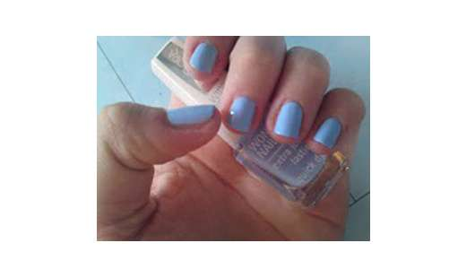 IsaDora Wonder Nail Wide Brush Nail Polish, Farbe: 711 Miami Blue