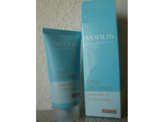 Venus Perfect Face Care Tinted Day Cream, Farbe: Gold