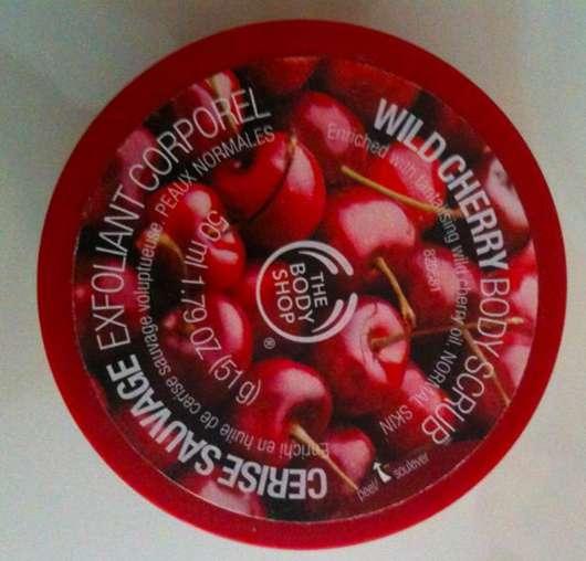 The Body Shop Wild Cherry Body Scrub