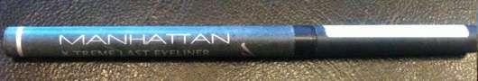 Manhattan X-Treme Last Eyeliner, Farbe: Schwarz
