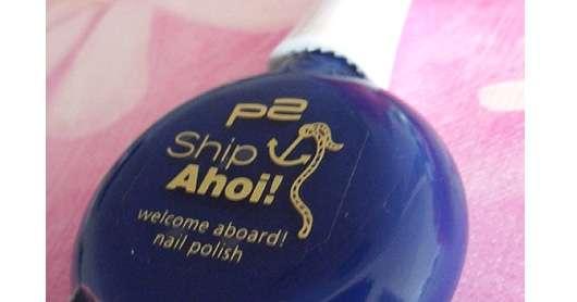 p2 ship ahoi nail polish, Farbe: 010 Blue Navy (Limited Edition)