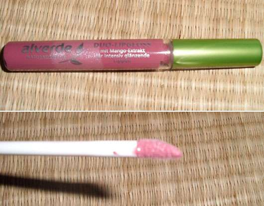 "alverde Duo-Lipgloss, Farbe: 232 exciting berry (""Hippie Deluxe"" LE)"