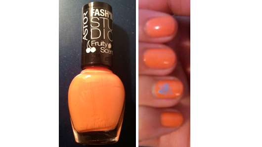 ASTOR Fash'n Studio Fruity Scent Nail Polish, Farbe: 108 Orange Fizz