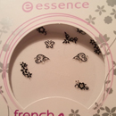 essence french glam nail sticker – 03 nothing but french
