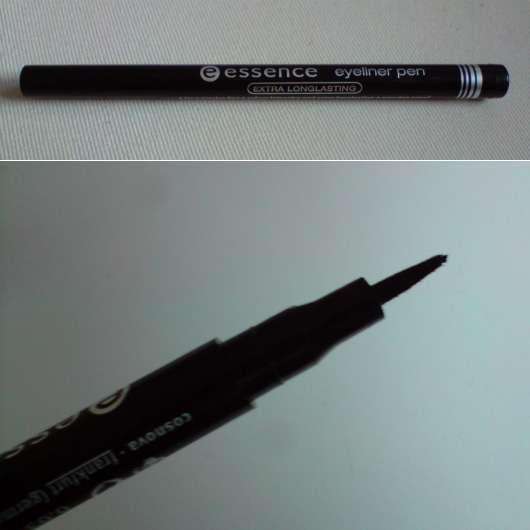 test eyeliner essence eyeliner pen farbe schwarz. Black Bedroom Furniture Sets. Home Design Ideas