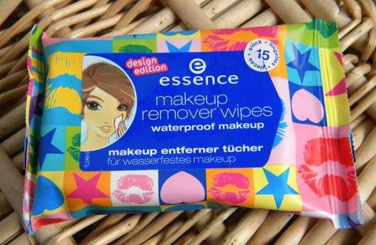 essence makeup remover wipes waterproof makeup (design edition)