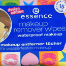essence makeup remover wipes waterproof makeup (design edition)